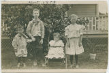 Larsen children in 1909