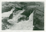 Kettle Falls before building of the Grand Coulee Dam, northeast Washington State