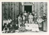 First Danville school, northeast Washington State, 1897