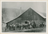 Hall's Livery Stable, Republic, Washington, circa 1897-1910