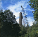 Smokestack coming down