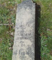 Headstone of Louisa Birnie, 1900