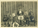 Loggers with Morrell Logging Company, 1900s