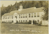 School building in Skamokawa, Washington