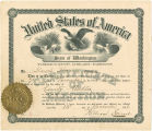 Blanche Heron (Bradley), certification as Wahkiakum County Auditor, 1916