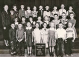Cathlamet School, grade 2, Mrs. Bunn, 1956-1957