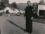 Cathlamet Headquarters Camp, 1949 - Phil Sr.