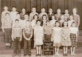 Cathlamet School, grades 3 & 4, Mrs. Goodfellow, 1957-58