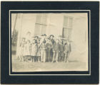 Brown's Point School class picture, Whidbey Island, circa 1910