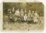 Margaret Chapin's 4th grade class, Whidbey Island, Washington, 1914