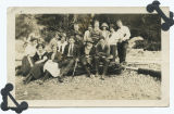Deception Pass, Washington, Sea Scouts picnic, June 1924