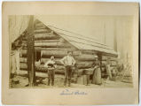 Calligan Logging Camp, Samuel Blakelin, Whidbey Island, Washington, 1887