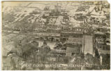 Palouse River flood in Colfax, Washington, 1910