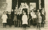 Primary class at the Steptoe school