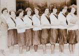 Steptoe high school girls' basketball team of 1924