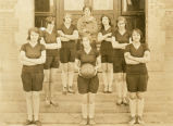 Steptoe high school girls' basketball team of 1928-1929