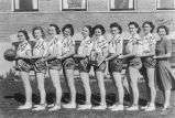 Steptoe girls' basketball team of 1939