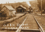Oregon Railway & Navigation railroad depot in Colfax, Washington