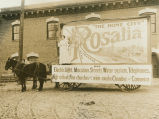 Parade float, Rosalia, Washington, 1911