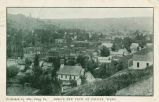 Bird's eye view of Colfax, Washington