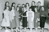 School outfit division of the Dress Revue at the 1959 Palouse Empire Fair