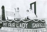 Garfield, Washington float at the 1960 Palouse Empire Fair