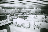 Home Economics building displays at the 1960 Palouse Empire Fair