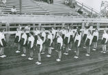 Colfax High School drill team, Palouse Empire Fair, Mockonema, Washington 1960