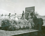 Washtucna's float at 1953 Palouse Empire Fair