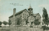 Palouse high school, Palouse, Washington, circa 1912