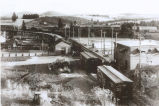 Spokane Inland Empire railroad yard, Palouse, Washington, circa 1907