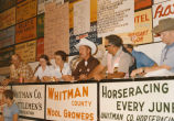 Auction at the Palouse Empire Fair, Mockonema, Washington 1975