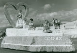 Colfax float at the Palouse Empire Fair parade, Mockonema, Washington, 1963