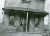 Cliff Hoag's General Merchandise and Post Office, Albion, Washington, 1913