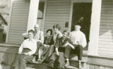 Charles Aegerter family, Colfax, Washington, circa 1925