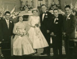 Wedding photo of Judy and Vince Hensle