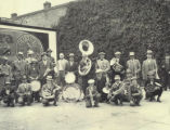 Oakesdale Brass Band in 1929