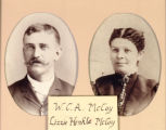 William Charles (W.C.A.) and Elizabeth Jane (Lizzie) Henkle McCoy