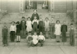 Third grade class at the Lamont School
