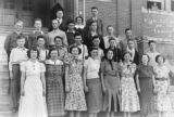 Lamont high school students of 1937-1938
