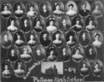 Pullman High School graduates of 1904