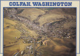 Aerial view of Colfax, Washington
