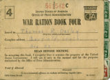 War ration stamp book four
