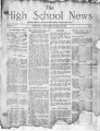 March 1923 Thornton High School news bulletin