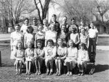 Garfield, Washington sixth grade class of 1945