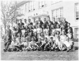 1944-45 Endicott high school student body
