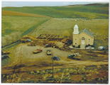 Building the parsonage at the Selbu Lutheran Church