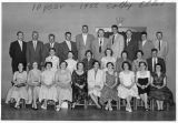 10th year reunion of the Colfax High School class of 1946, Colfax, Washington, 1956