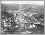 Aeriel view of Colfax, Washington, 1889