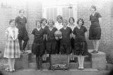 Pine City girls basketball team, Pine City, Washington, 1928